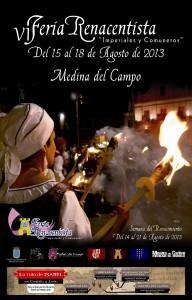 Cartel Feria Renacentista con faldon reducido