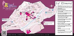Los escenarioas de la Feria 2014 2
