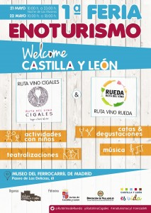 cartel welcome castilla y leon reducida