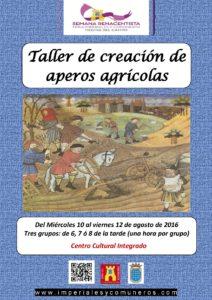 TALLER DE APEROS