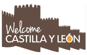 logo welcome castilla y leon