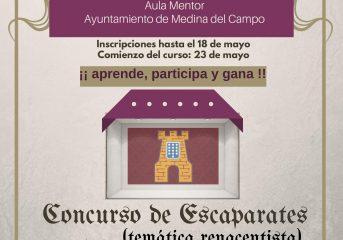C oncursos Escaparatismo Feria REnacentista y Formación específica sobre escaparatismo e imagen comercial.
