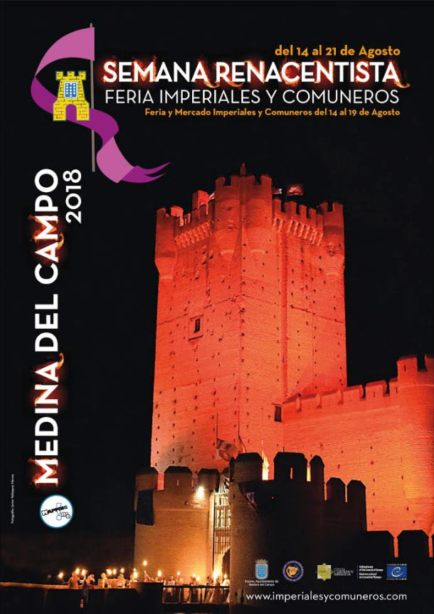 cartel Semana Renacentista 2018 Medina del Campo